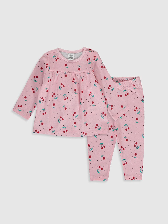 %100 Pamuk %100 Pamuk Süprem Standart Pijama Takım %100 Pamuk Kız Bebek Desenli Pamuklu Pijama Takımı