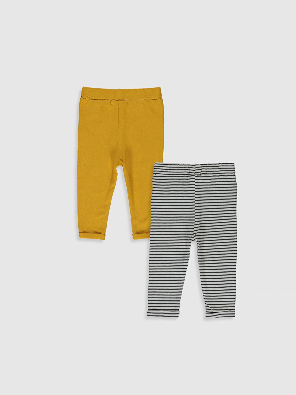 %94 Pamuk %6 Elastan Süprem Pantolon Erkek Bebek Pantolon 2'li