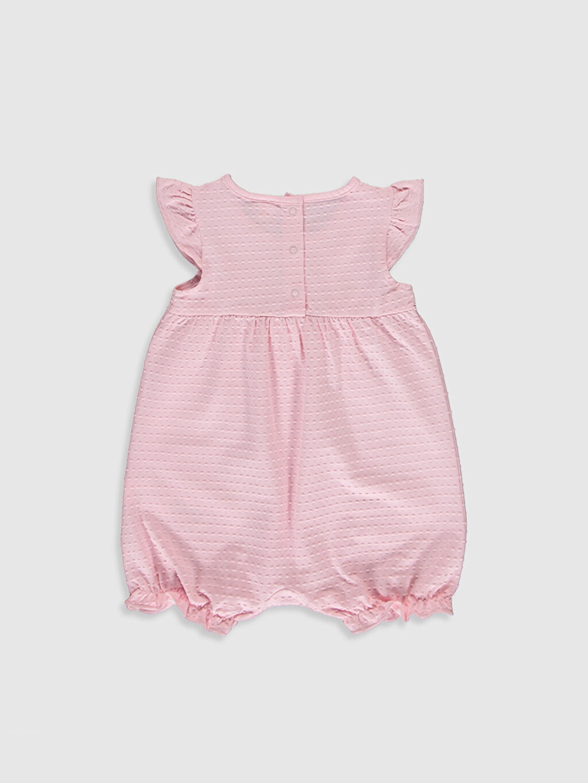 %96 Pamuk %4 Elastan Kolsuz Orta Kalınlık Dolgusuz Süprem Patiksiz Bebe Yaka Astarsız Tulum Aksesuarsız Kız Bebek Pamuklu Tulum