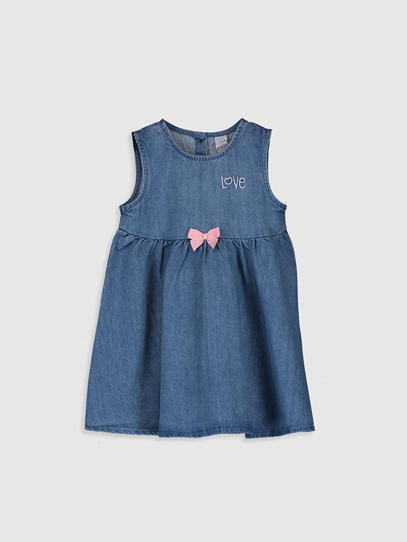 İndigo Kız Bebek Jean Elbise 0S2260Z1 LC Waikiki