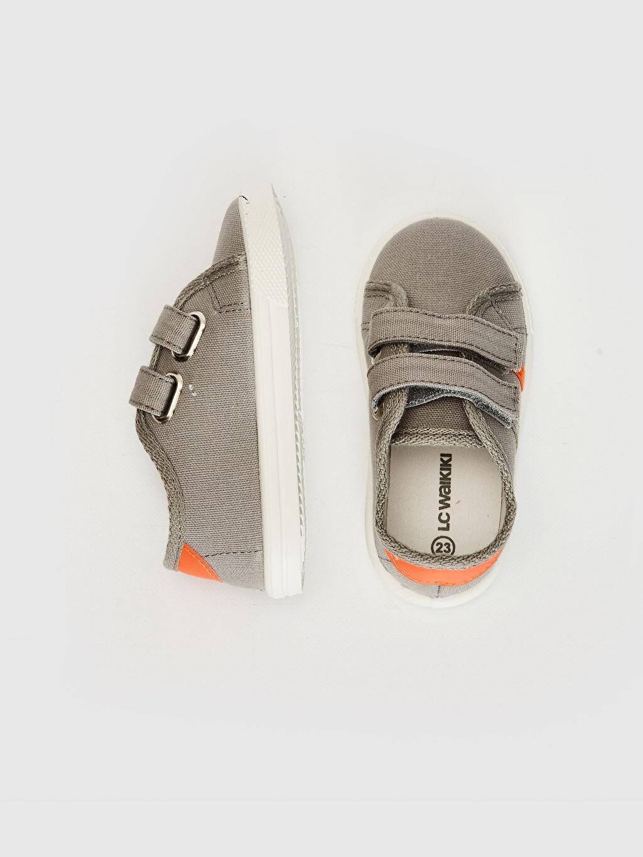 %0 Tekstil malzemeleri(%100 pamuk)  Erkek Bebek Cırt Cırtlı Bez Günlük Spor Ayakkabı