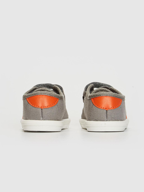 Erkek Bebek Cırt Cırtlı Bez Günlük Spor Ayakkabı