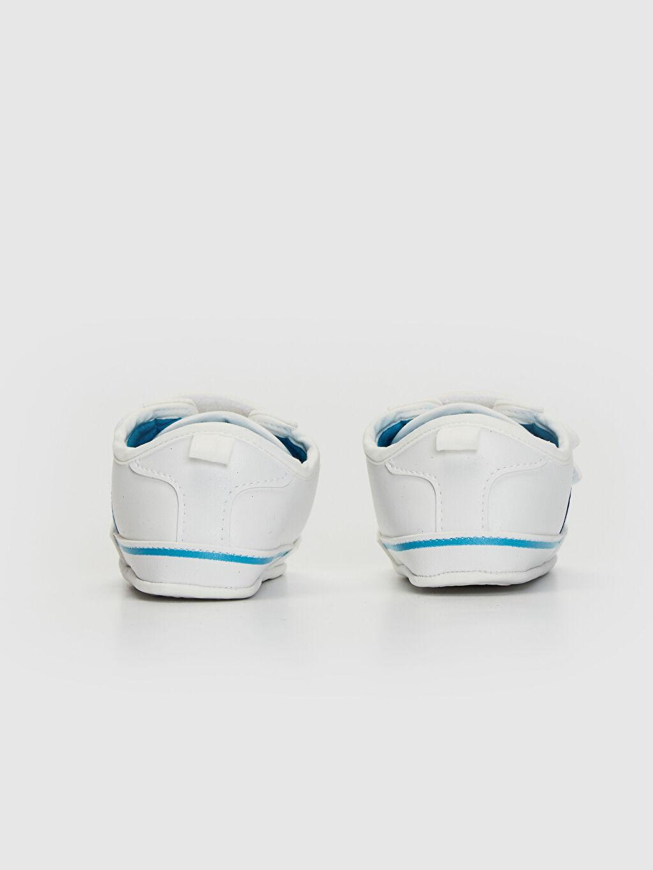 Erkek Bebek Cırt Cırtlı Yürüme Öncesi Ayakkabı