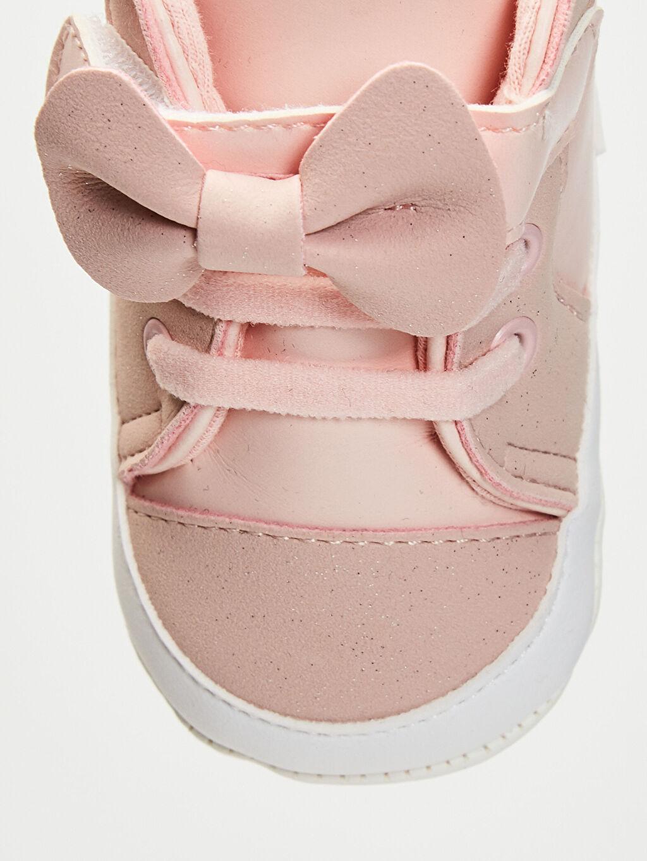 0S3042Z1 Kız Bebek Fiyonk Detaylı Yürüme Öncesi Ayakkabı