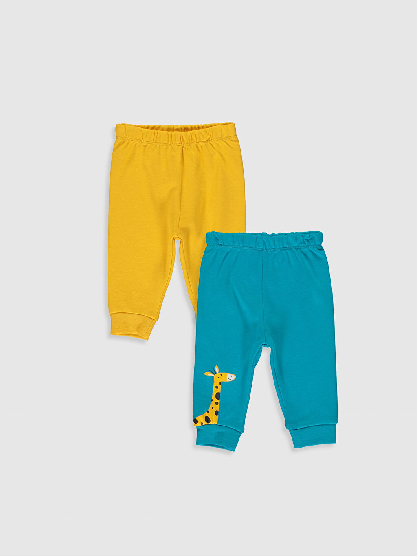 Turkuaz Erkek Bebek Pijama Alt 2'li  0S3233Z1 LC Waikiki