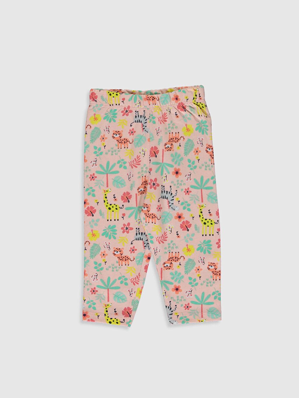 Kız Bebek Kız Bebek Desenli Pijama Alt 2'li