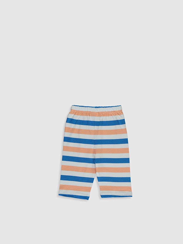 0S4839Z1 Erkek Bebek Pijama Alt 2'Li