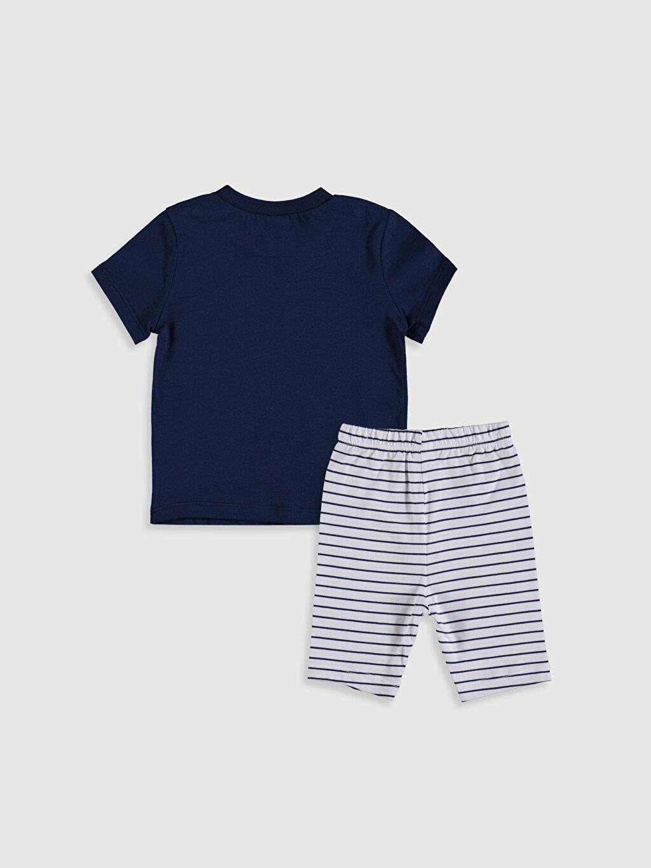 %100 Pamuk %100 Pamuk Süprem Standart Pijama Takım %100 Pamuk Erkek Bebek Baskılı Pijama Takımı