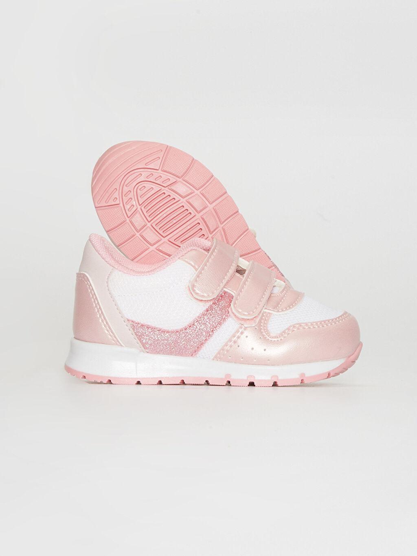 Kız Bebek Kız Bebek Cırt Cırtlı Günlük Spor Ayakkabı