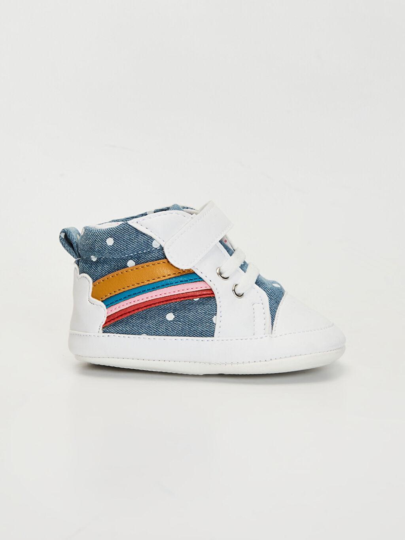 İndigo Kız Bebek Cırt Cırtlı Ayakkabı 0S5361Z1 LC Waikiki
