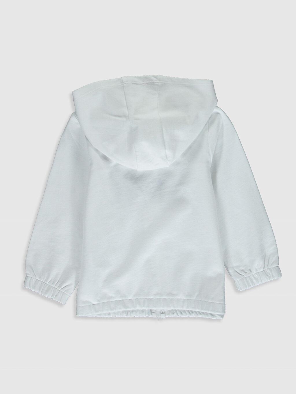 %100 Pamuk İki İplik Aksesuarsız Sweatshirt Kapüşonlu Düz %100 Pamuk Kız Bebek Kapüşonlu Sweatshirt