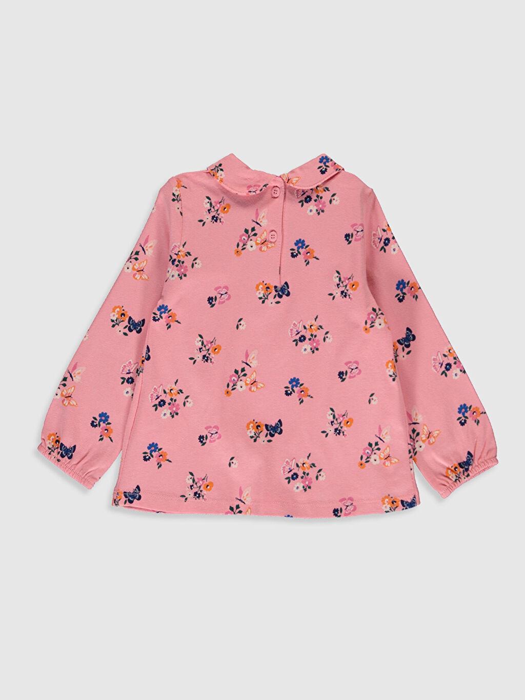 %100 Pamuk Standart Baskılı Uzun Kol Tişört Diğer Kız Bebek Desenli Tişört