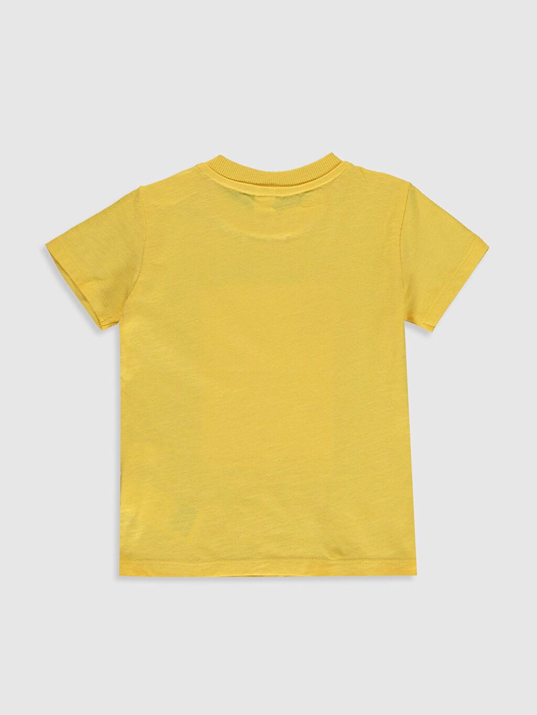 %100 Pamuk Normal Baskılı Kısa Kol Tişört Bisiklet Yaka Erkek Bebek Baskılı Pamuklu Tişört