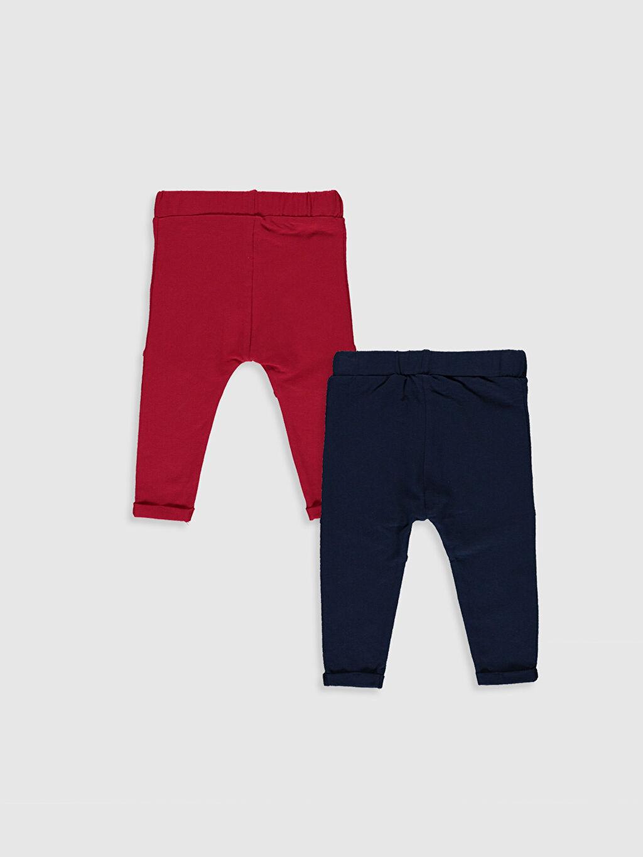 %96 Pamuk %4 Elastan  Erkek Bebek Pantolon 2'li