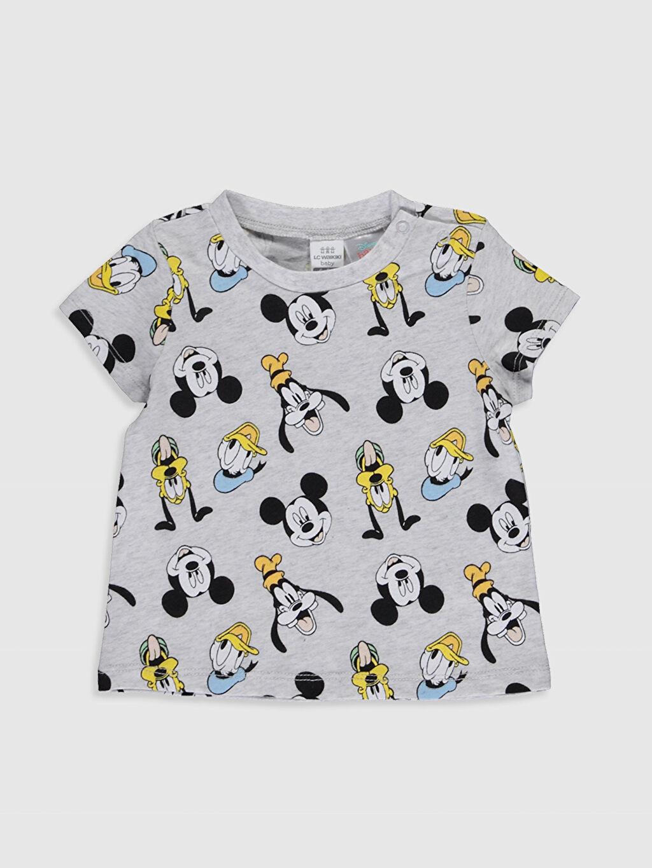 Erkek Bebek Disney Baskılı Pamuklu Tişört 2'li