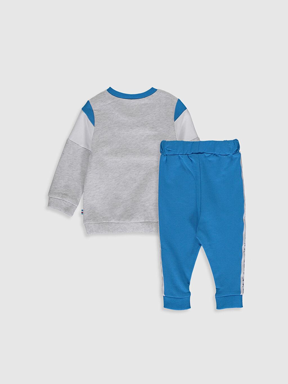 %100 Pamuk %95 Pamuk %5 Elastan  Erkek Bebek Sweatshirt ve Pantolon