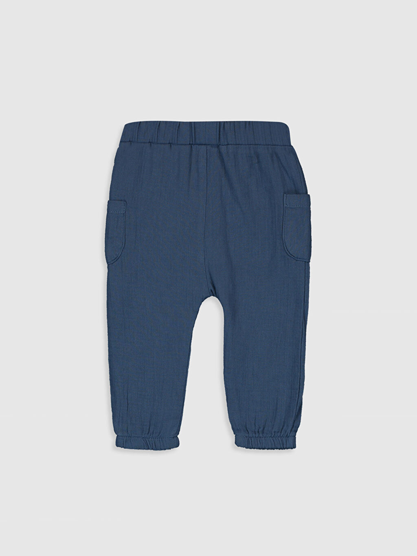 %100 Pamuk  Erkek Bebek  Poplin Pantolon