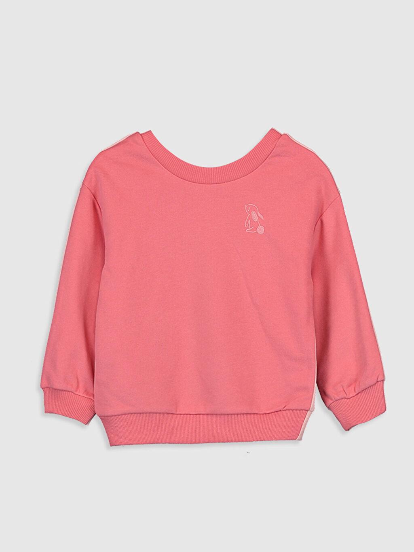 Pembe Kız Bebek Sweatshirt 0S7391Z1 LC Waikiki