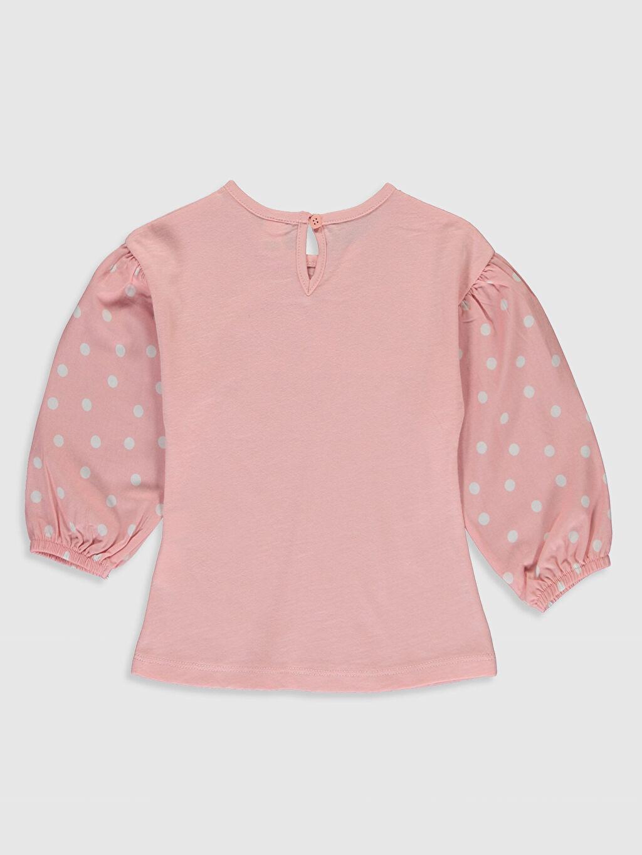%100 Pamuk Sweatshirt Süprem Uzun Kol A Kesim Kız Bebek Baskılı Sweatshirt