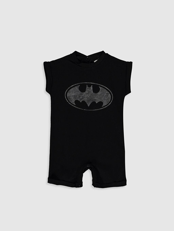 Siyah Erkek Bebek Batman Baskılı Tulum 0S7509Z1 LC Waikiki