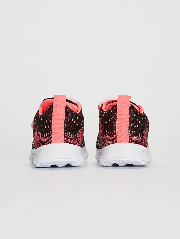 Kız Bebek Cırt Cırtlı Aktif Spor Ayakkabı