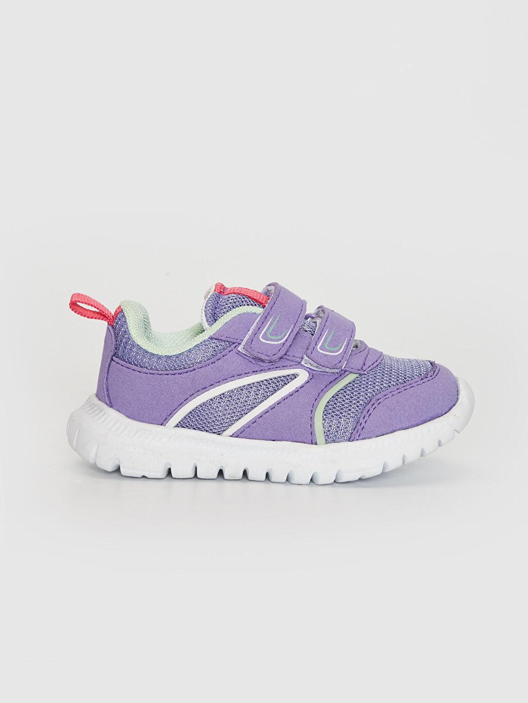 Mor Kız Bebek Cırt Cırtlı Aktif Spor Ayakkabı 0S8997Z1 LC Waikiki