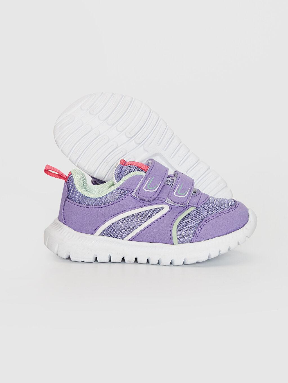 Kız Bebek Kız Bebek Cırt Cırtlı Aktif Spor Ayakkabı