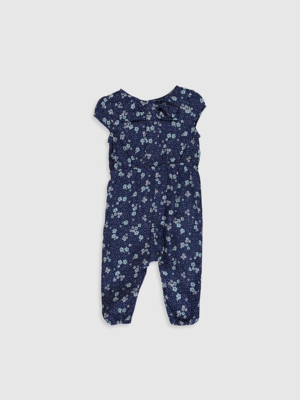 Mavi Kız Bebek Desenli Tulum 0S9821Z1 LC Waikiki
