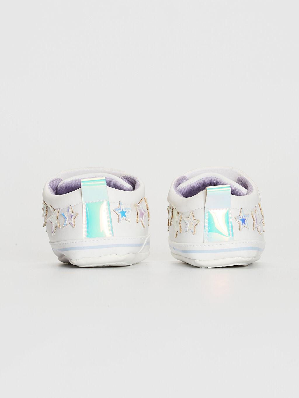 Kız Bebek Cırt Cırtlı Yürüme Öncesi Ayakkabı