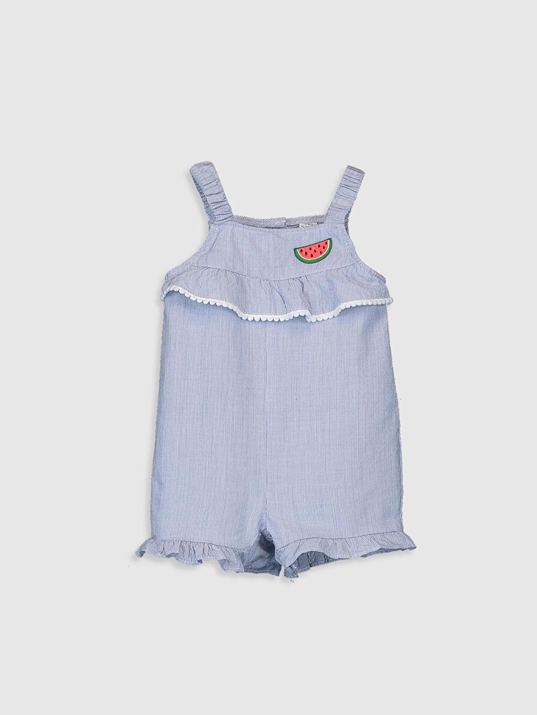 Beyaz Kız Bebek Tulum 0SG773Z1 LC Waikiki
