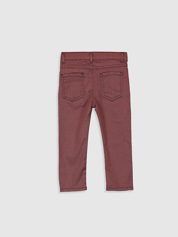 %88 Pamuk %8 Polyester %4 Elastan Jean Düz Aksesuarsız Standart Astarsız Beş Cep Erkek Bebek Jean Pantolon