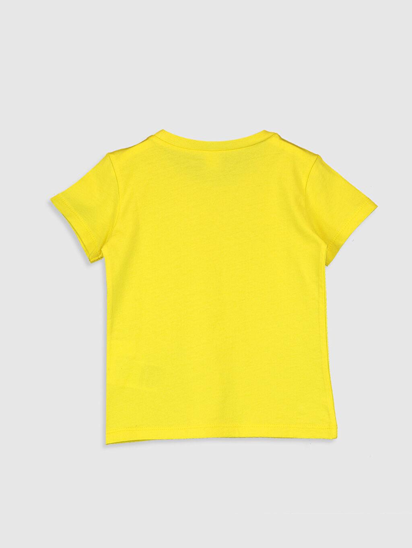 %100 Pamuk Normal Baskılı Kısa Kol Tişört Bisiklet Yaka Erkek Bebek Slogan Yazı Baskılı Pamuklu Tişört