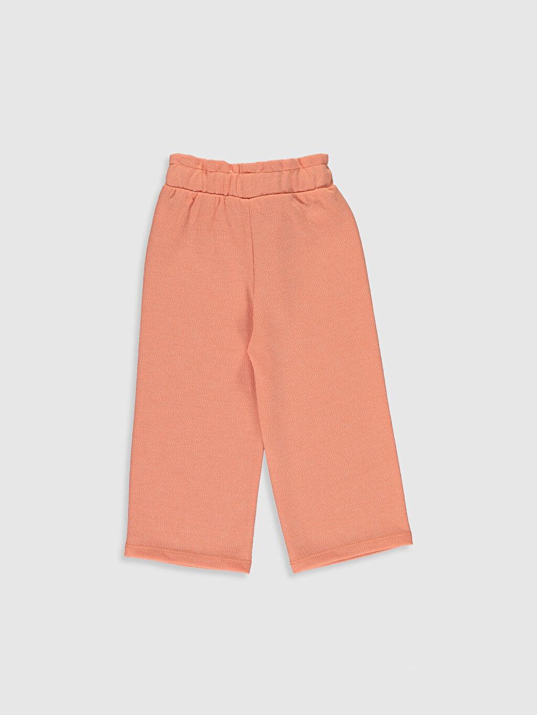 %80 Polyester %15 Viskoz %5 Elastan Bol Kız Bebek Pantolon
