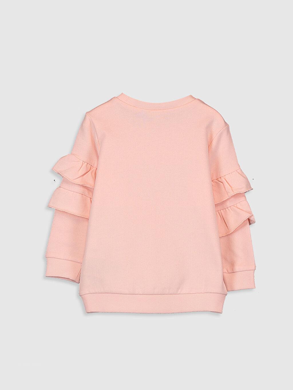 Kız Bebek Kız Bebek Yazı Basklı Sweatshirt