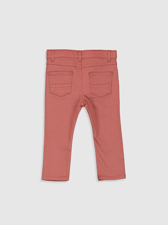 %98 Pamuk %2 Elastan %100 Pamuk Astarsız Dar Beş Cep Pantolon Aksesuarsız Gabardin Düz Erkek Bebek Slim Fıt Gabardin Pantolon
