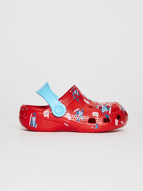 Kırmızı Erkek Bebek Sandalet 0SK653Z1 LC Waikiki
