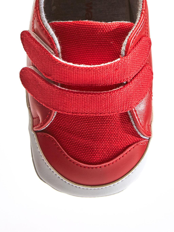 LC Waikiki Kırmızı Erkek Bebek Yürüme Öncesi Ayakkabı
