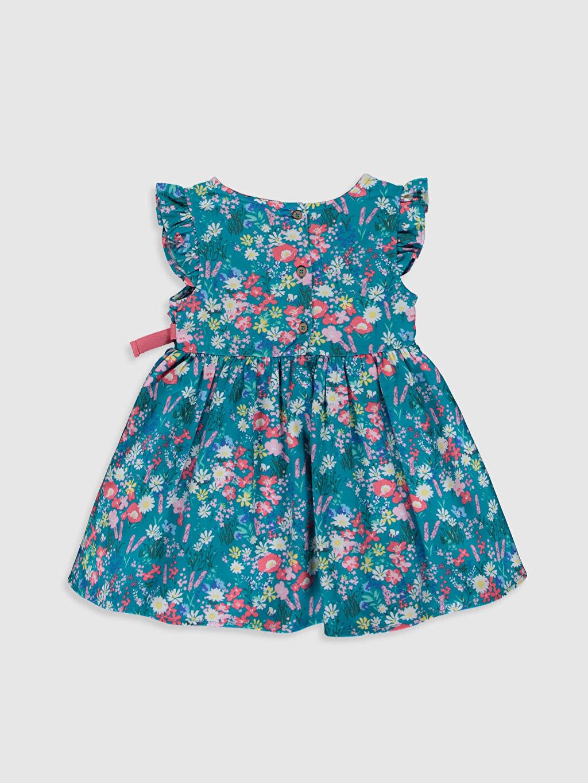 %100 Pamuk Desenli Kız Bebek Desenli Twiil Elbise