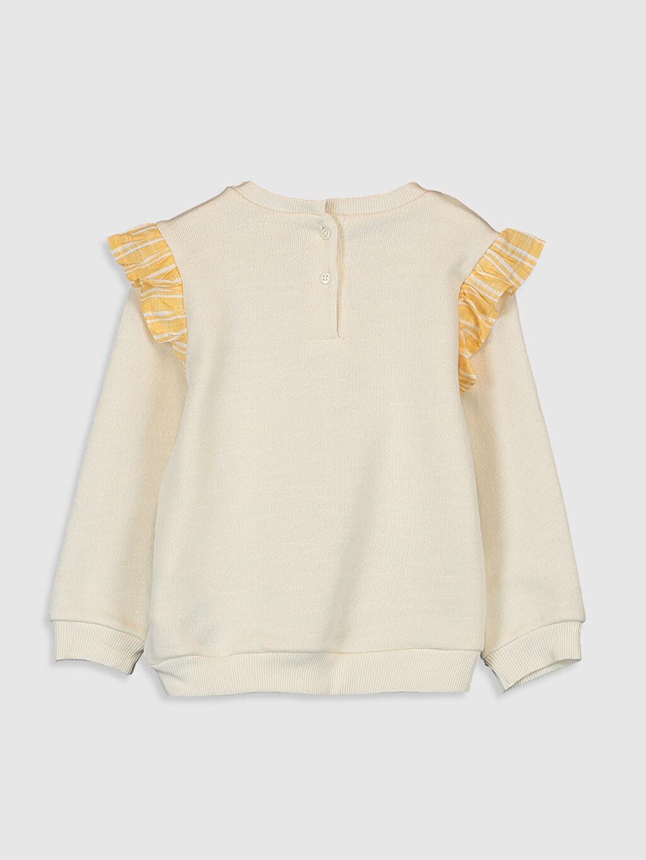 Kız Bebek Kız Bebek Baskılı Sweatshirt