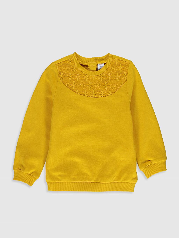 Turuncu Kız Bebek Sweatshirt 0SN184Z1 LC Waikiki