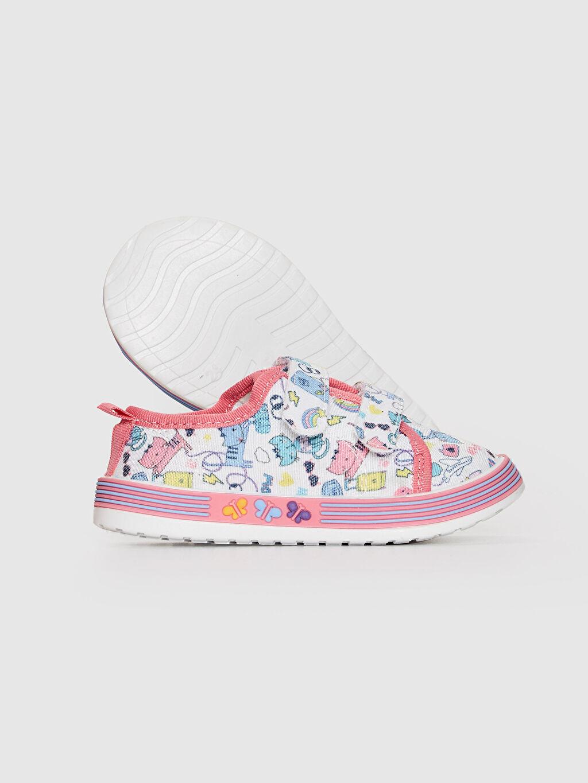 Kız Bebek Kız Bebek Cırt Cırtlı Bez Günlük Ayakkabı