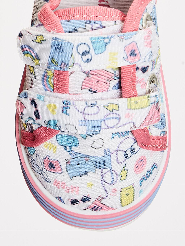 LC Waikiki Çok Renkli Kız Bebek Cırt Cırtlı Bez Günlük Ayakkabı