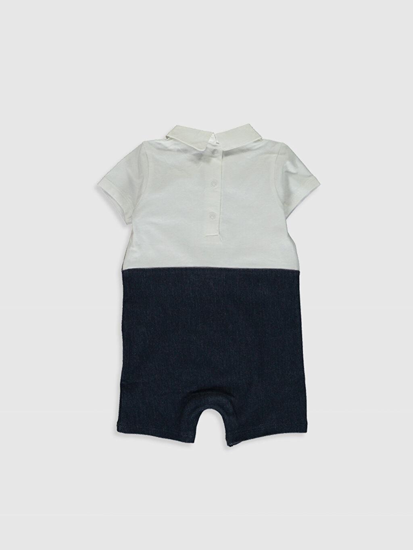 %100 Pamuk  Erkek Bebek Tulum