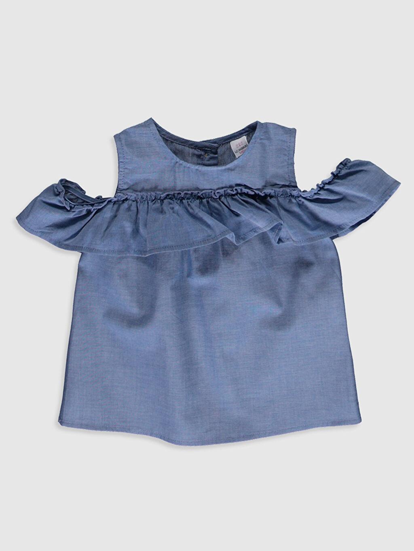 Mavi Kız Bebek Jean Bluz 0SA609Z1 LC Waikiki