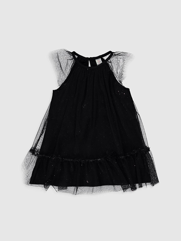 Siyah Düz Elbise 0SB276Z1 LC Waikiki