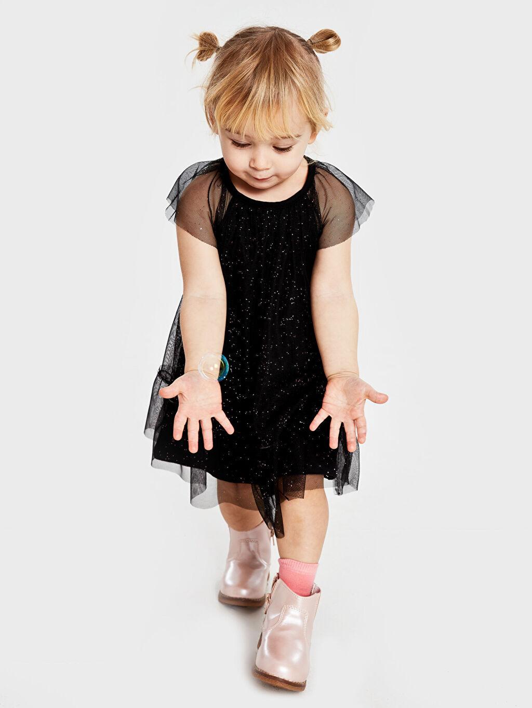 Kız Bebek Düz Elbise