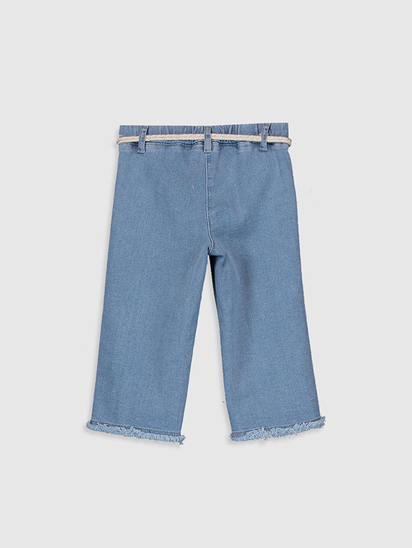 %89 Pamuk %8 Polyester %3 Elastan Standart Kız Bebek Jean Pantolon