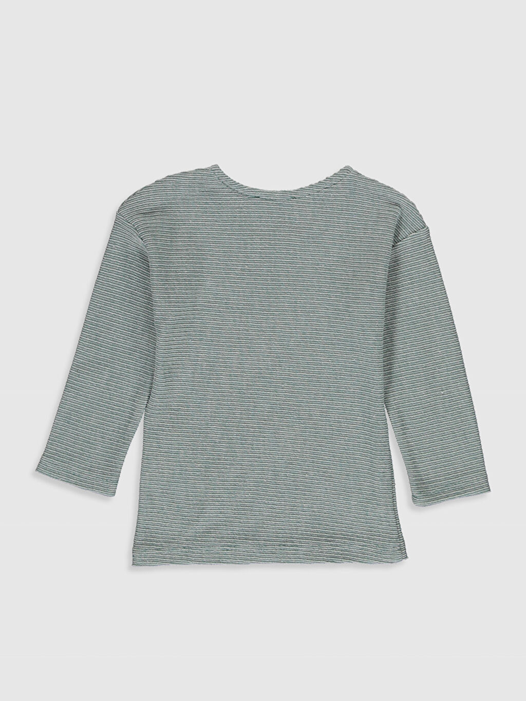 %62 Pamuk %38 Polyester  Erkek Bebek Yazı Baskılı Sweatshirt