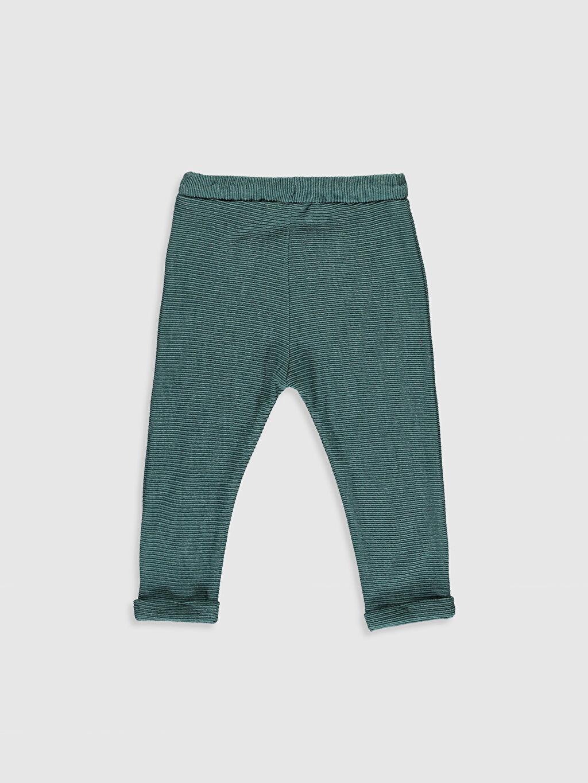%62 Pamuk %38 Polyester Günlük Orta Kalınlık Eşofman Altı Çizgili Erkek Bebek Eşofman Alt