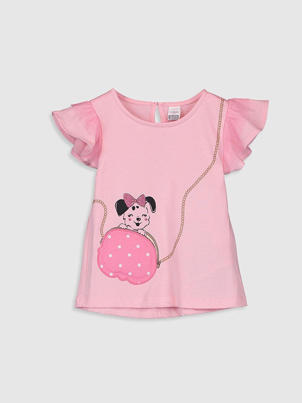 Pembe Kız Bebek Baskılı Tişört 0SB747Z1 LC Waikiki